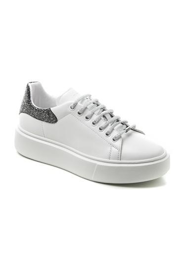 Frau Sim Detay 0AS9W2024870 Kadın Spor Ayakkabı Beyaz